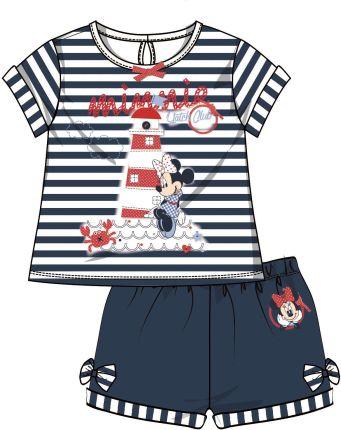 2c54a66cd2 Disney by Arnetta letni komplet dziewczęcy Minnie 80 niebieski