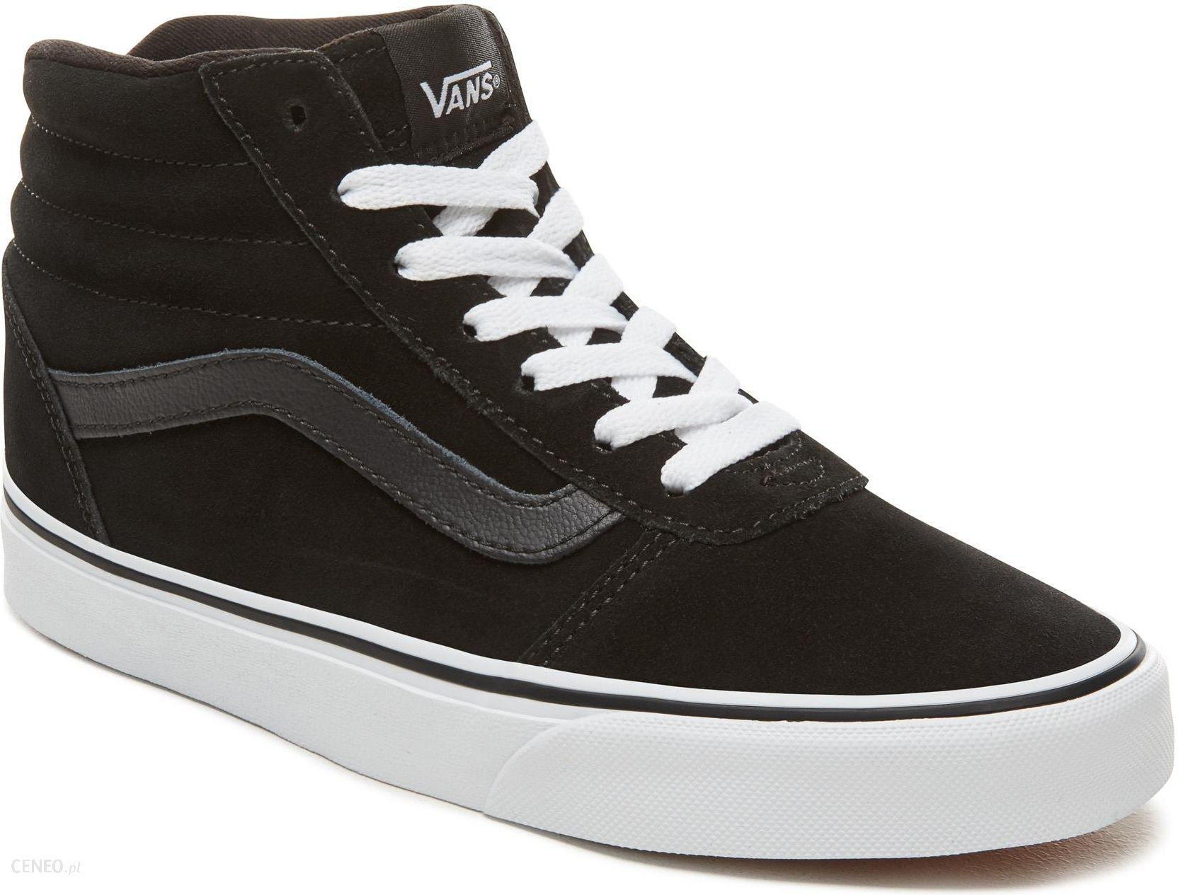 Vans damskie buty Wm Ward Hi Suede, Black, 37 Ceny i opinie Ceneo.pl