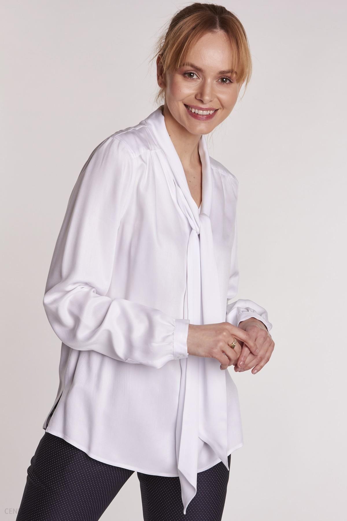 1ffa2b2d Biała bluzka koszulowa - Ceny i opinie - Ceneo.pl