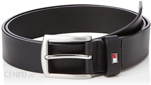 94ea59f170417 Amazon Pasek Tommy Hilfiger New Denton Belt 3.5 dla mężczyzn, kolor:  czarny, rozmiar