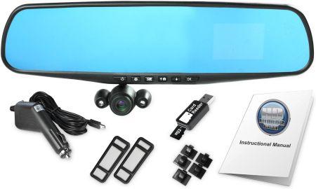 Rejestrator Jazdy Top Shop Lusterko Samochodowe Z Kamera Hd Mirror Cam Opinie I Ceny Na Ceneo Pl