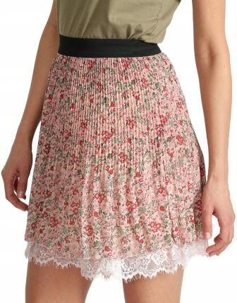 df2bde8109 Mini spódnica z koronką krótka spódniczka I31 W3 Allegro