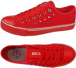 Trampki Big Star damskie czerwone buty DD274614 36 Ceny i opinie Ceneo.pl
