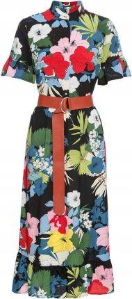 44bb0aa504 Sukienka z paskiem czarny 42 XL 941445 bonprix - Ceny i opinie ...