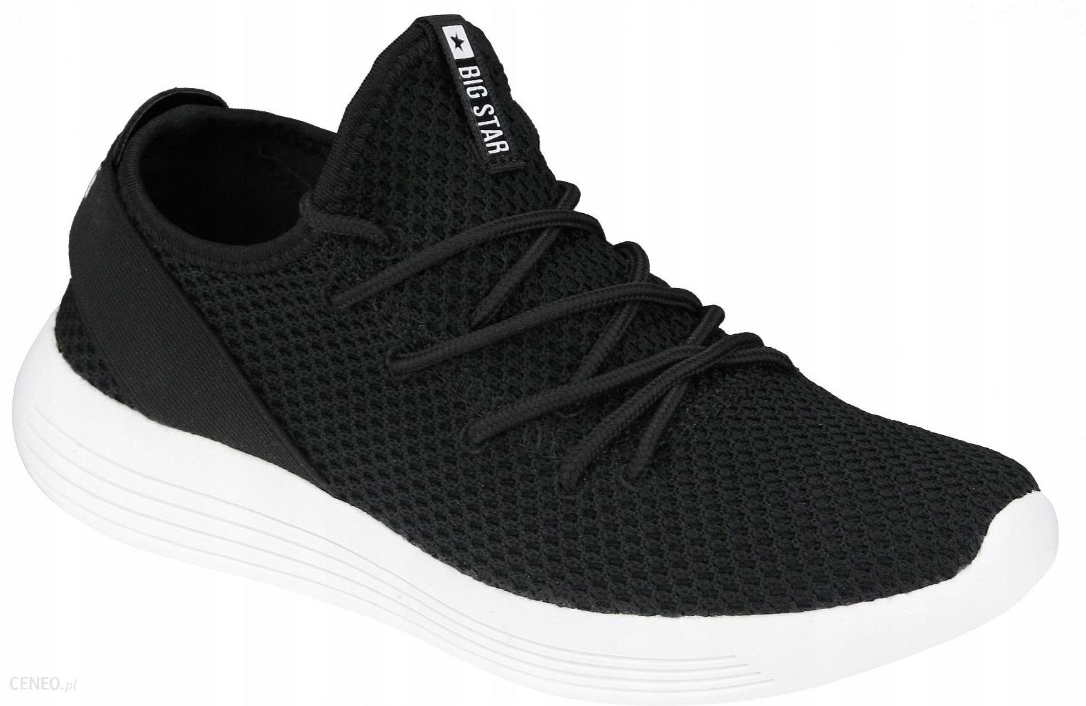 Sportowe czarne buty sneakersy Big Star DD274454