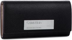 379c72d4d28cf Duży Portfel Damski CALVIN KLEIN - Sided Large Trifold K60K605351 001  eobuwie