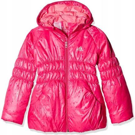 Ciepła Dziewczęca KURTKA na ZIMĘ Adidas M67381 74 Ceny i