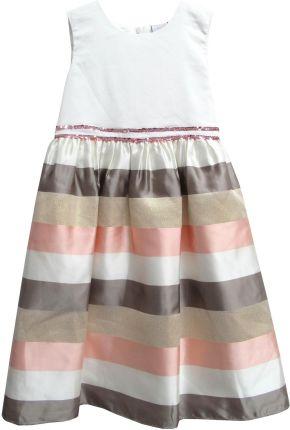 06db1b8540 Amazon Dziewczęca sukienka sowa śmietana motyl cekiny codzienne ...