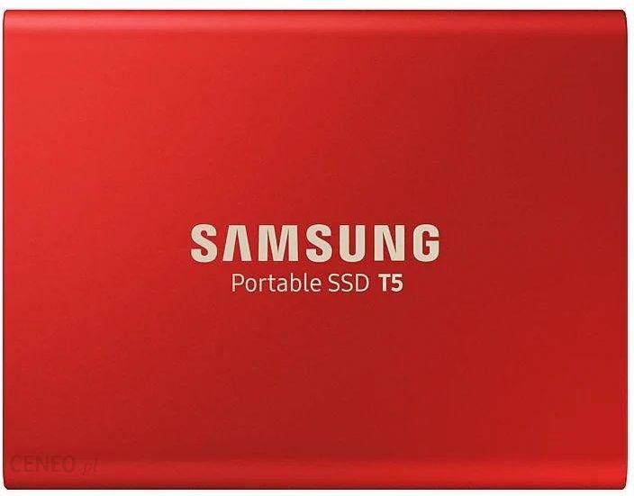 Samsung T5 1TB Czerwony (MU-PA1T0R/EU)