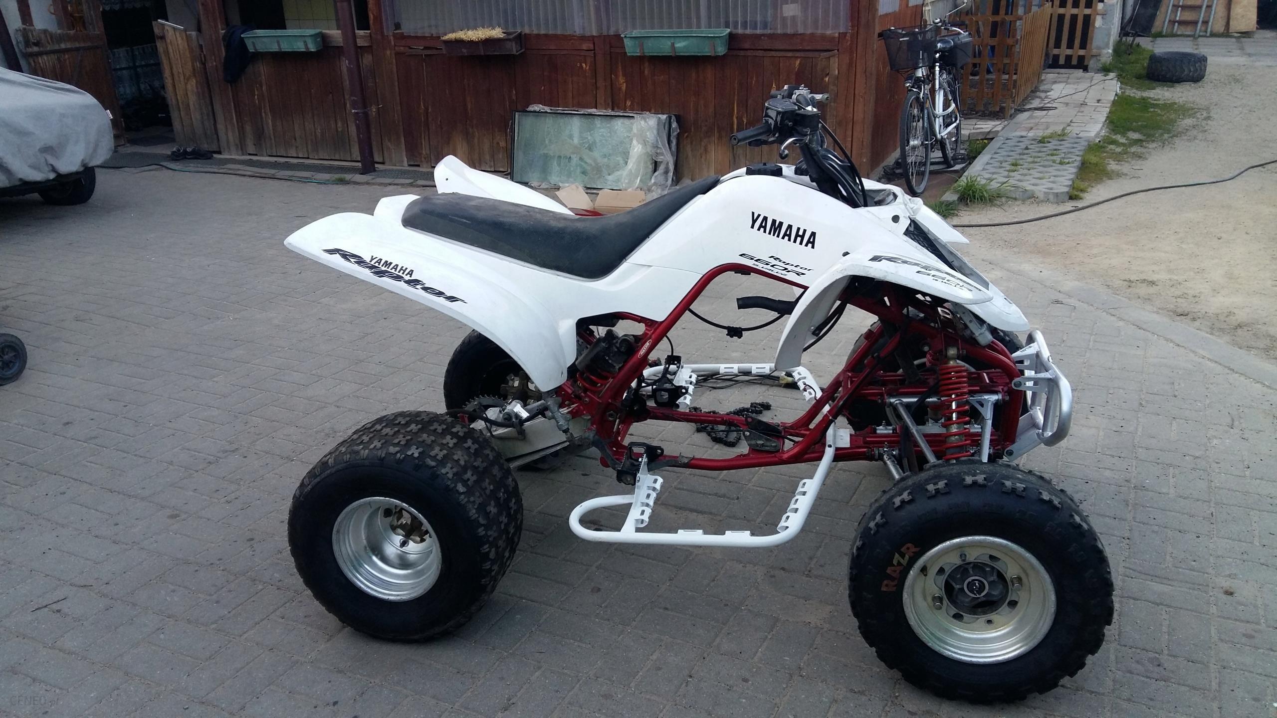 Rama Quad Yamaha Raptor 660 Kompletna Swap Czesci Opinie I Ceny Na Ceneo Pl