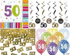 Dekoracje Na 50 Urodziny Akcesoria Imprezowe Ceneopl