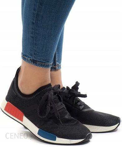 Czarne sneakersy sport trampki buty Siatka MD01 36 Ceny i opinie Ceneo.pl