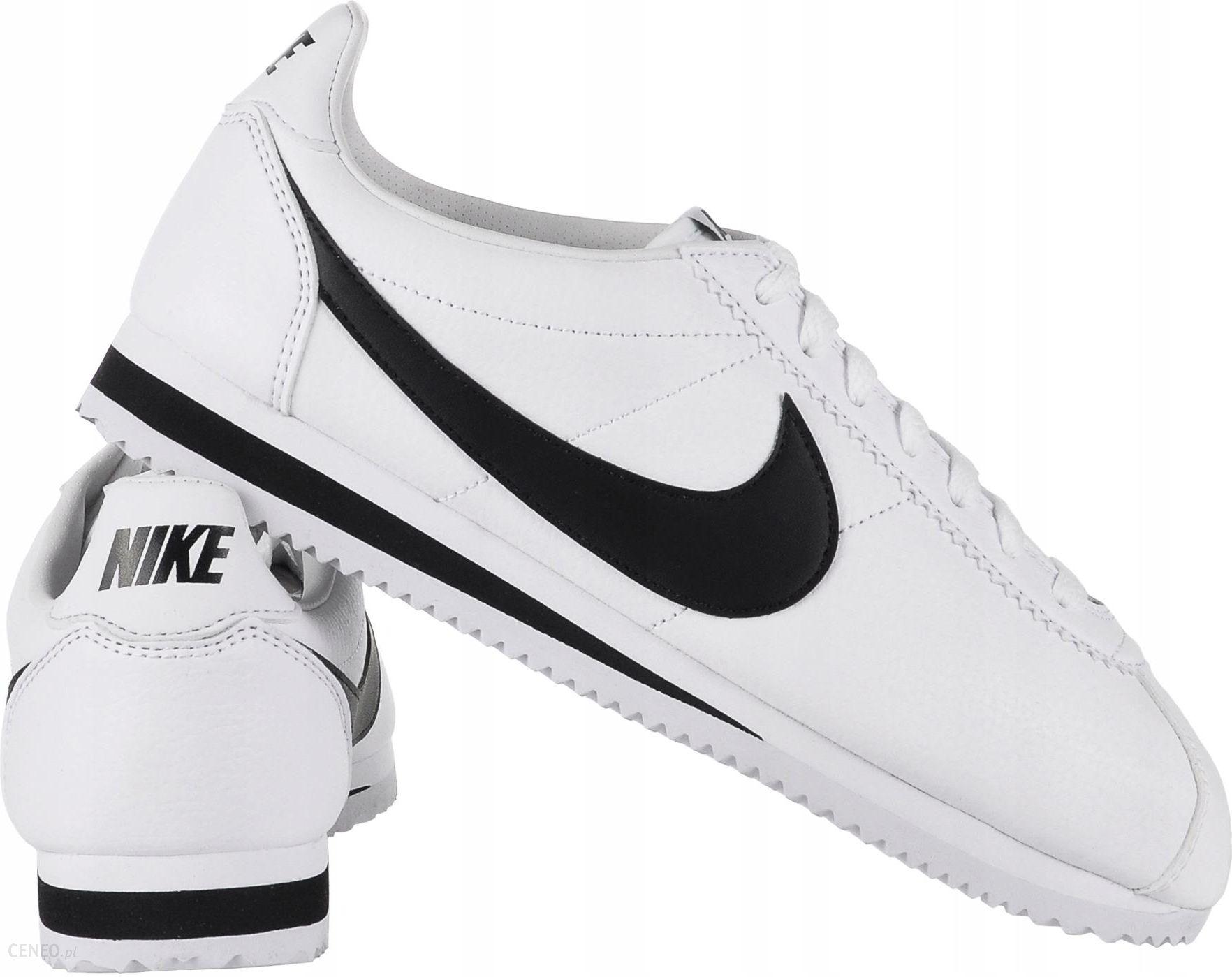 Buty sportowe męskie NIKE Cortez biało czerwone