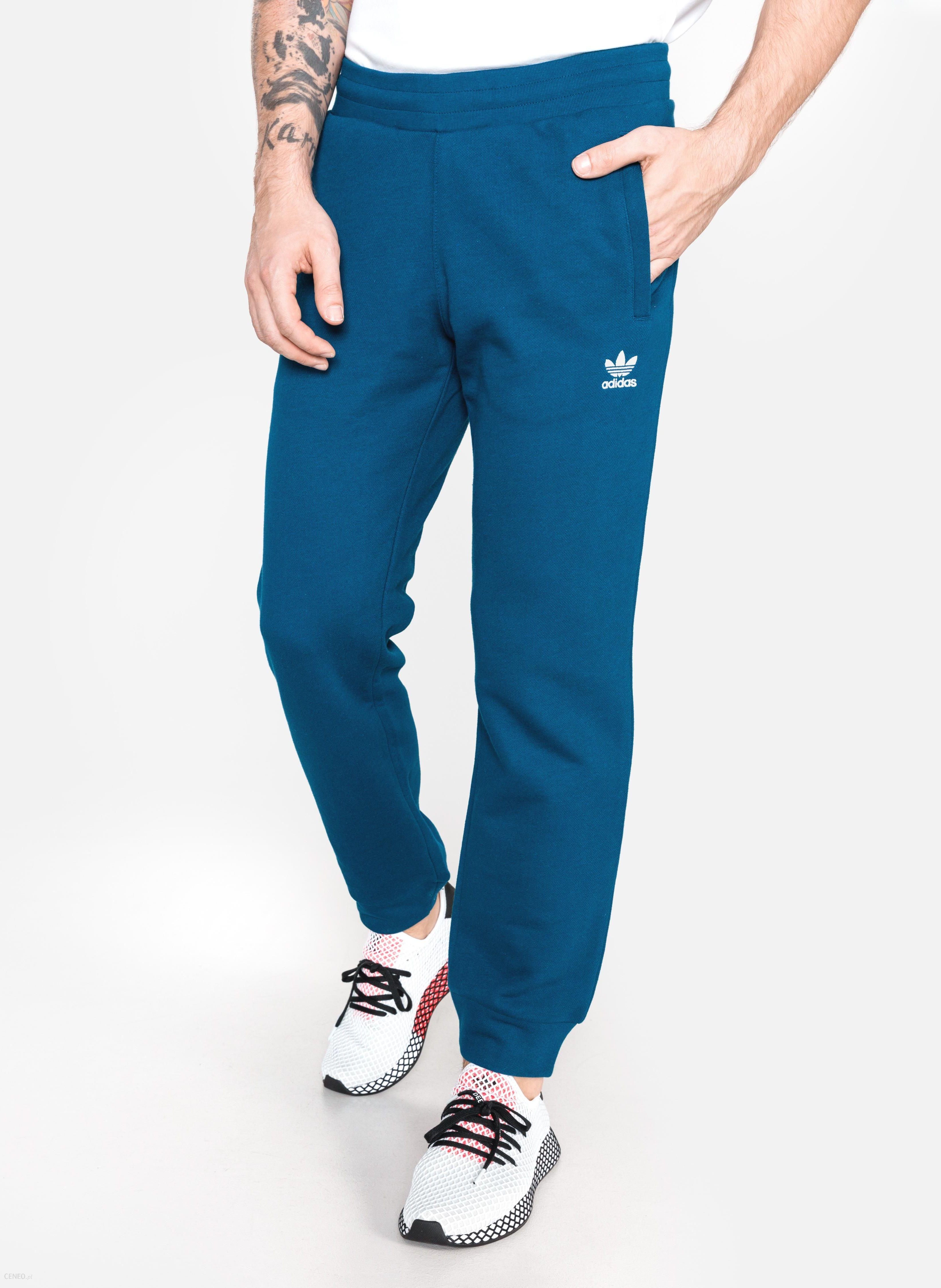 Adidas Originals Trefoil Spodnie dresowe Niebieski M Ceny i opinie Ceneo.pl