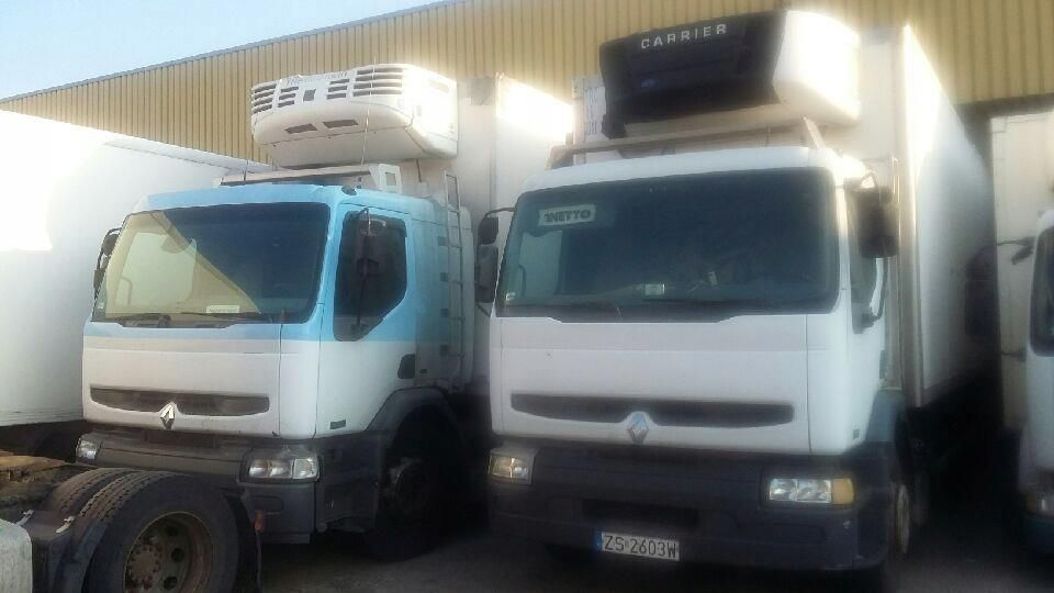 Chłodny Renault Premium Solówka Izoterma Winda Agregat - Opinie i ceny na SQ88