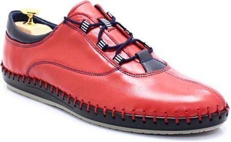 KENT 312 CZERWONE Miękkie buty ręcznie szyte Ceny i