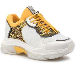 58571da21d6b3 Sneakersy BRONX - 66167D-HA BX 1525 White/Yellow 162 eobuwie