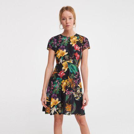 677c46289b Sukienki w kwiaty - modne i stylowe - Ceneo.pl