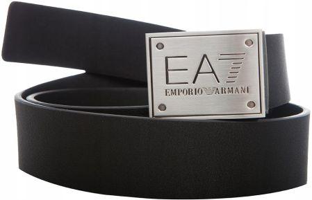 02a8c457 Emporio Armani EA7 męski pasek Dwustronny Black Allegro