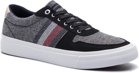 1d3e4e0a7ee46 Tenisówki TOMMY HILFIGER - Core Craft Vulc Sneaker FM0FM02286 Black ...