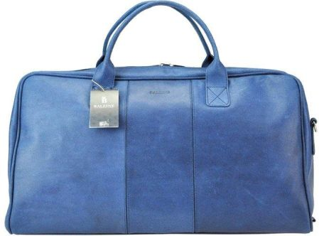 e7effd1c398ba PUCCINI torba podróżna podręczna z kolekcji NEW ROMA materiał poliester  189,00zł. Baleine L1 - niebieski \ skóra naturalna