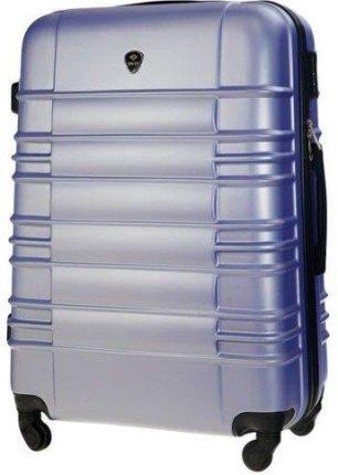 7a23075170cb2 Mała walizka kabinowa ABS 55x37x24cm STL838 lawendowa - S \ fioletowy