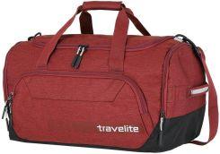93d673f7c08c6 Travelite Średnia Torba sportowa podróżna M 45L Kick Off - kolor czerwony -  Czerwony