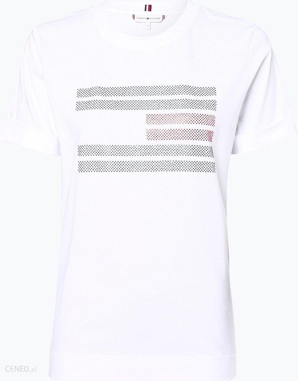27d695603 Tommy Hilfiger T-shirt damski niebieski - zdjęcie 1