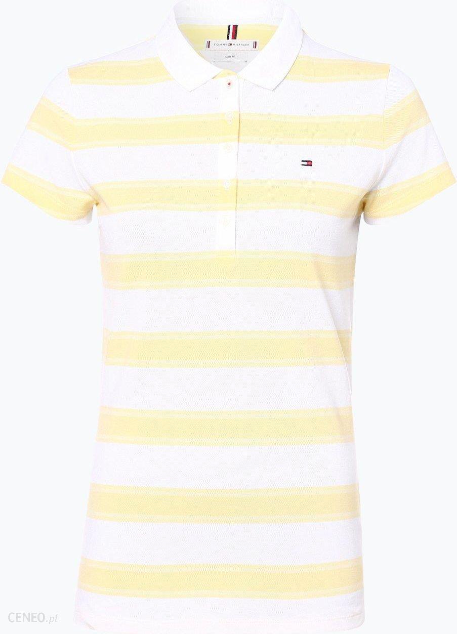 Damska koszulka polo, żółty