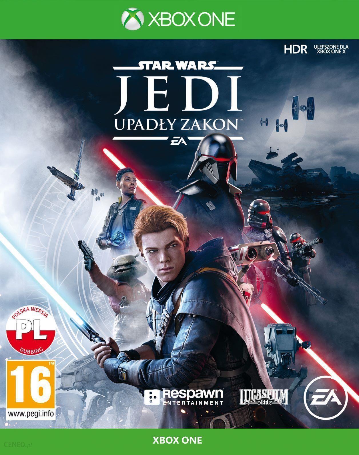 Star Wars Jedi Upadly Zakon Gra Xbox One Od 104 90 Zl Ceny I Opinie Ceneo Pl