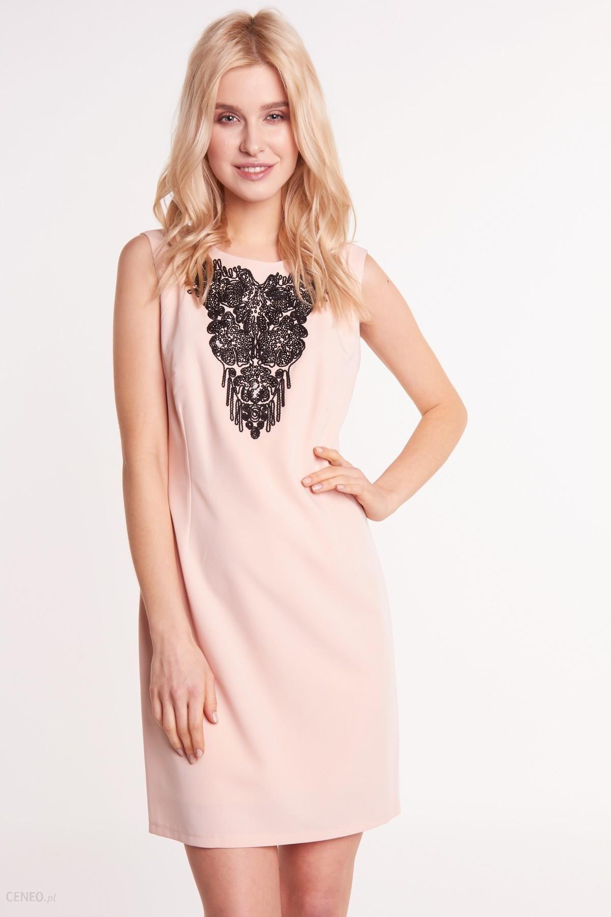 777de5f9 Różowa sukienka z cekinami