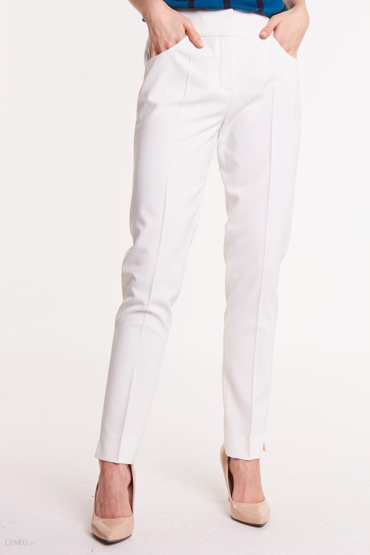 06847caaf9fa05 Białe spodnie w kant Lavi - Ceny i opinie - Ceneo.pl