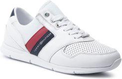 007c64ddc2cc2 Sneakersy TOMMY HILFIGER - Lightweight Leather Sneaker FW0FW04261 Rwb 020  eobuwie