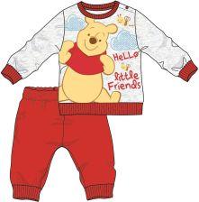 ec73e83d4cfa31 Disney by Arnetta piżama chłopięca Kubuś Puchatek 74 czerwony