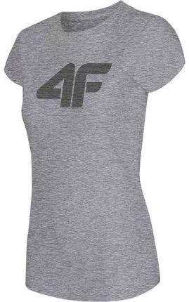 6a5f654480 Koszulka damska H4L19 TSD005 4F (chłodny jasny szary melanż)   BŁYSKAWICZNA  WYSYŁKA   30