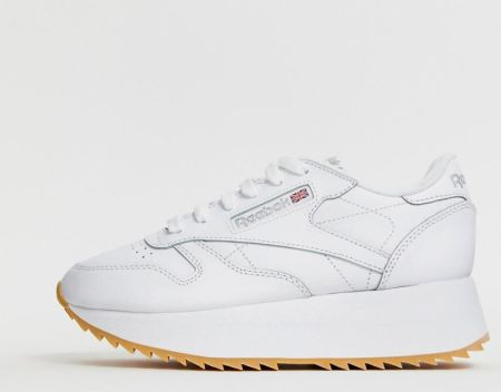 Reebok Classic Leather Trainers In White 49799 White