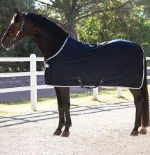 1f3e1b659f973 Horseware Derka Osuszająca Amigo Jersey Granat Srebrny 140