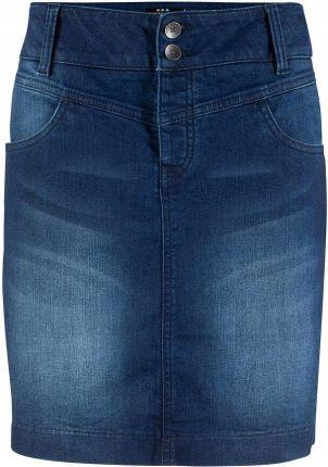 4c62138cbe Spódniczka dżinsowa z po niebieski 46 3XL 974931 - Ceny i opinie ...
