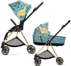 Cybex Mios 2.0 Jeremy Scott Cherubs Blue Głęboko Spacerowy