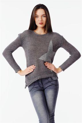 83729a904ae05c Sweter wiązany kokardą z tyłu czarny m244 - Ceny i opinie - Ceneo.pl