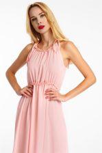 458df3567f Sukienka maxi na ramiączkach różowa Haily s - odcienie różu