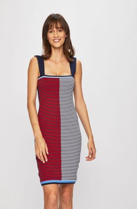 03e18f53fd Orsay Asymetryczna sukienka midi - Ceny i opinie - Ceneo.pl