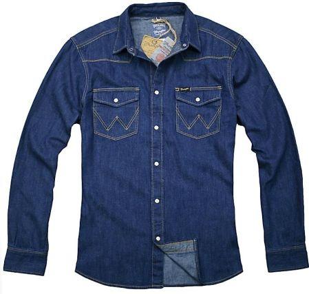 f427fcc2 Wrangler Western Shirt Indigo Koszula Jeansowa L - Ceny i opinie ...