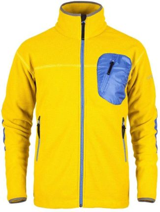 1b1a545f Milo Męska Bluza Polarowa Yrgyz Yellow Apple Amparo Blue M