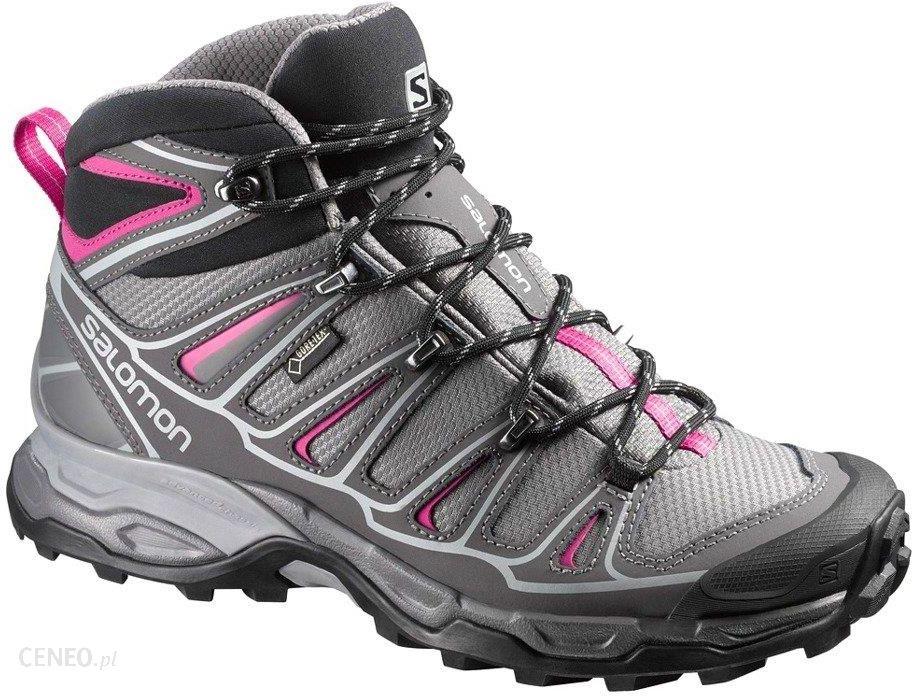 Buty trekkingowe Salomon X Ultra Mid 2 Gtx Gore Tex Szary 371477 Ceny i opinie Ceneo.pl