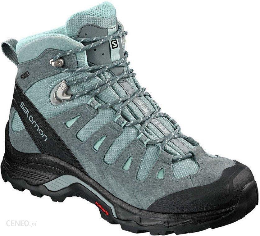 Buty trekkingowe Salomon Quest Prime Gtx Gore Tex 404636 Czarny Niebieski Ceny i opinie Ceneo.pl