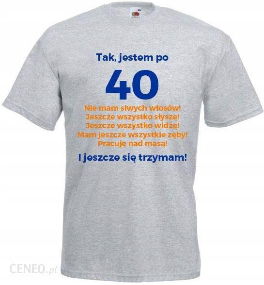 e9ce0eb7e8d0c0 Koszulka Na 40 Urodziny T-shirt Prezent TM94PL1-XL - Ceny i opinie ...