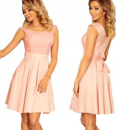 2049cd90cf Elegancka klasyczna Sukienka na wesele 244-1 XL 42 Allegro