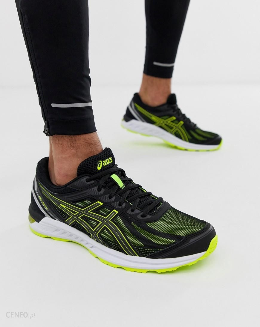 Asics Running Gel Sileo Trainers in black Black Ceneo.pl