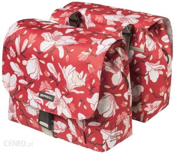 Basil Double Bag Magnolia 25L Poppy Red